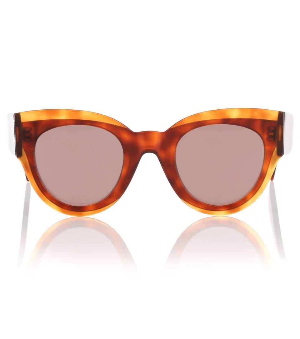 518774ff74c Celine Petra Cat-Eye Sunglasses In Brown