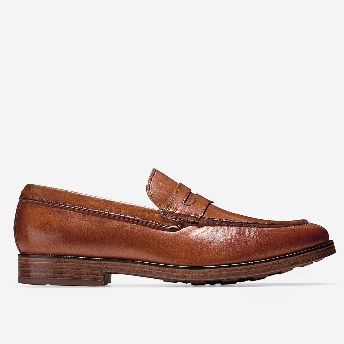 95eda4c86db Cole Haan Hamilton Grand Venetian Loafer In British Tan Leather ...
