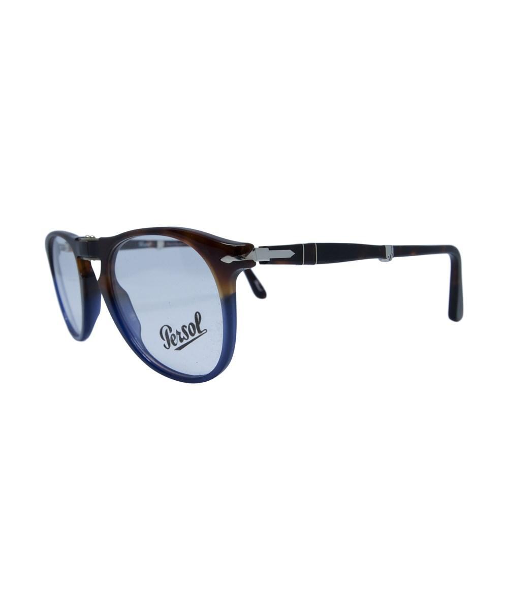 9a1e5afed8d3 Persol Po9714Vm 1022 Unisex Terra E Oceano Frame Prescription Eyeglasses In  Brown