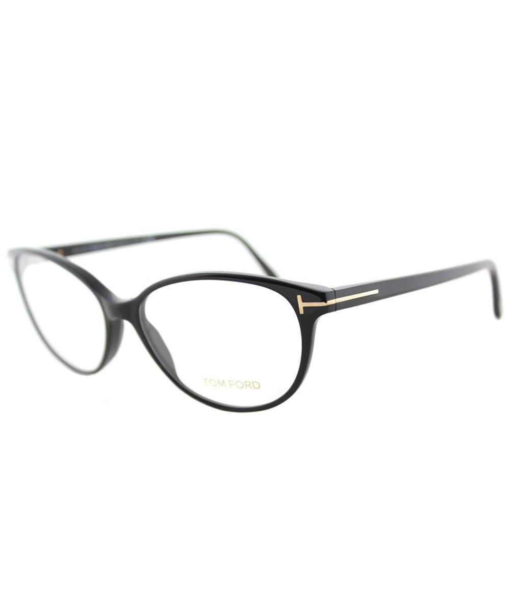 0476efab2e50 Tom Ford Ft 5421 001 53Mm Black Soft Cat-Eye Eyeglasses