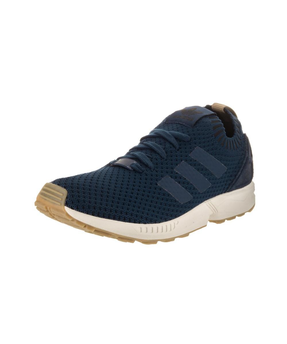 size 40 3b4c0 03fbf Adidas Men's Zx Flux Pk Originals Casual Shoe in Blue