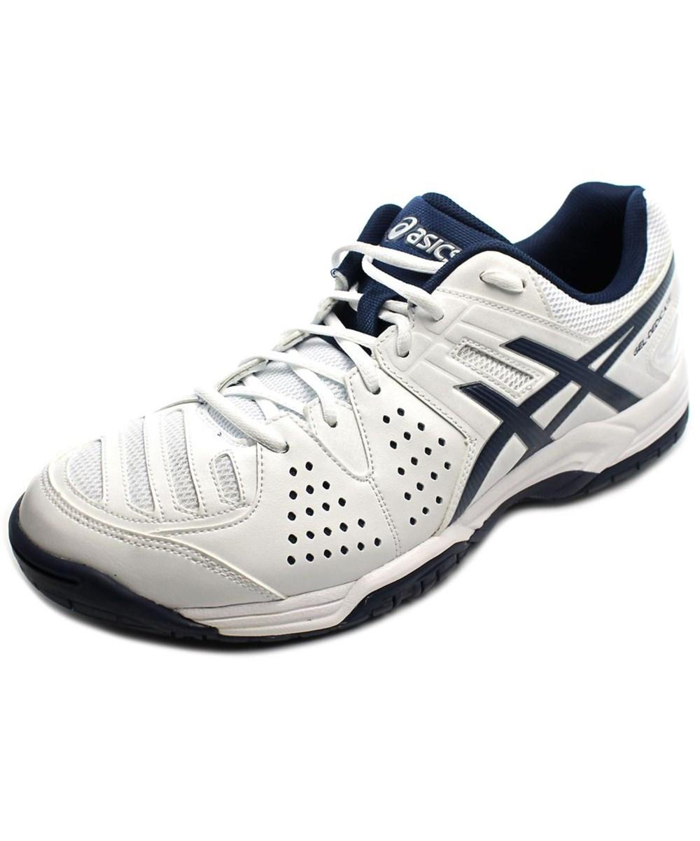 new release buying now 100% top quality Asics Gel-Dedicate 4 Men Round Toe Synthetic White Sneakers