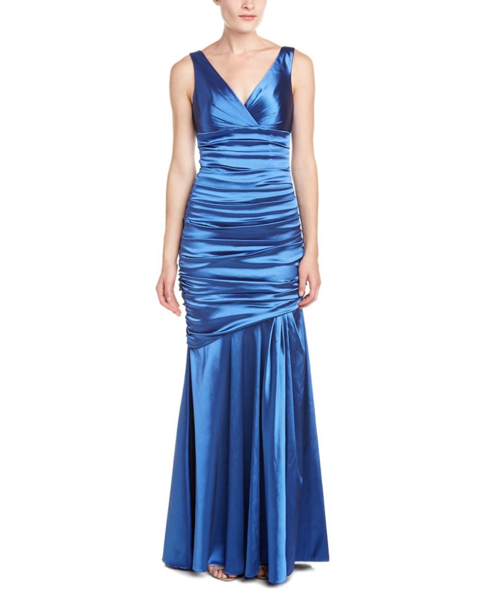 Theia Gown In Blue