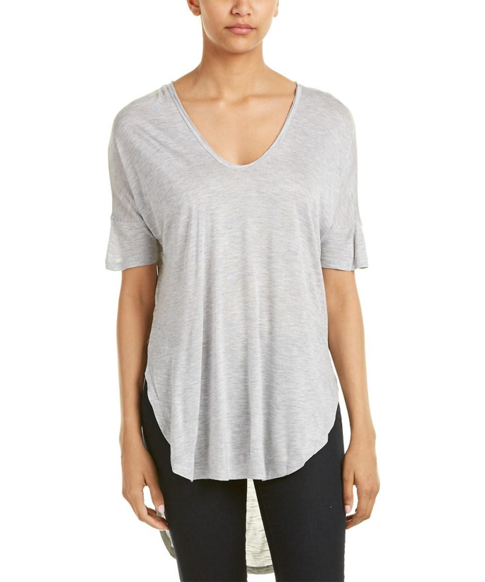 Vince Camuto Two By  Top In Grey