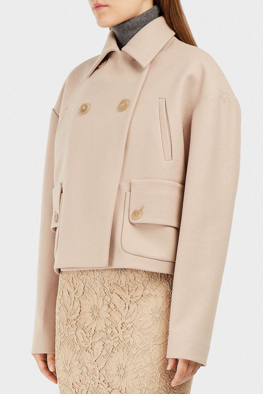 Rochas Wool-Blend Twill Jacket