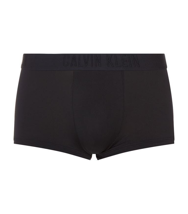 Calvin Klein Low-Rise Trunks In Black