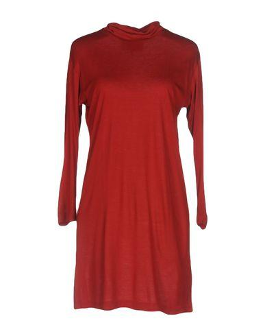 Mm6 Maison Margiela Short Dress In Red