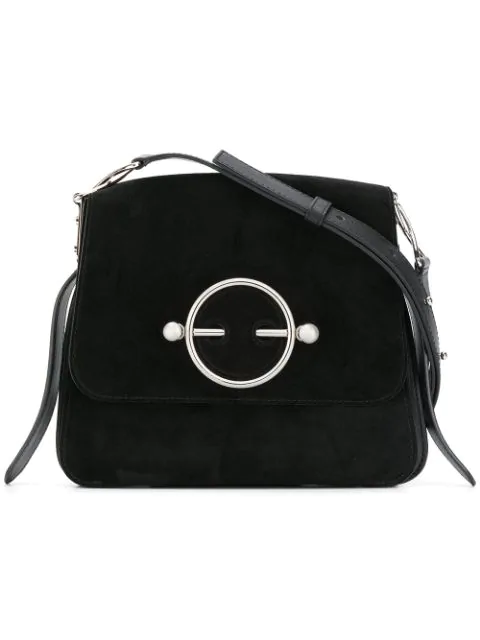 Jw Anderson J.W. Anderson J.W. Anderson Disc Shoulder Bag In 999 Black