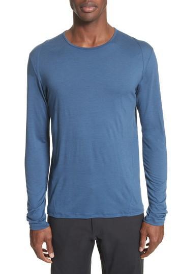 14e7173e Arc'Teryx Frame Merino Wool T-Shirt In Navy | ModeSens
