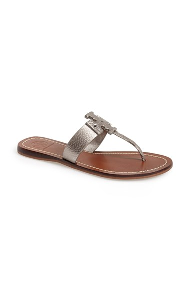 8ecdcdf6c94 Tory Burch  Moore  Leather Thong Sandal (Women)(Nordstrom Exclusive ...
