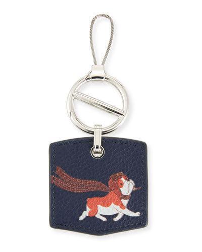 ec068729799 BOSTON BULLDOG KEY CHAIN. dunhill key chain with charming bulldog detail.