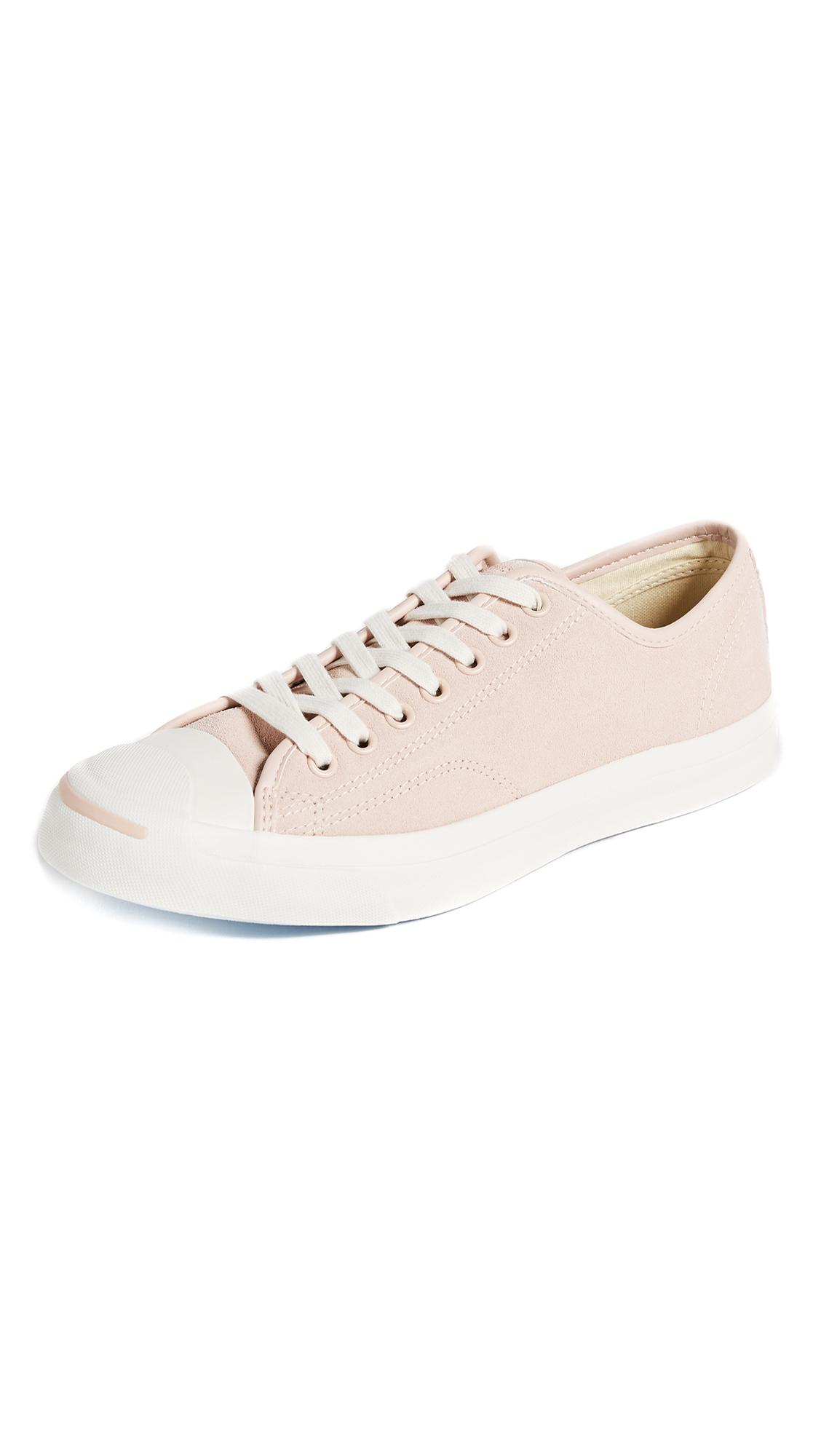 2d4ec06b38ed Converse Men s Jack Purcell Jack Ox Casual Sneakers From Finish Line In  Dusk Pink Natural