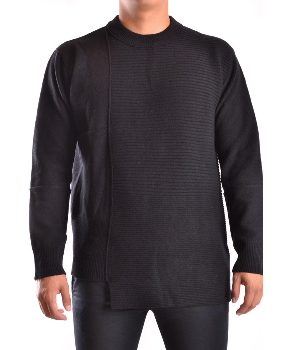 Diesel Black Gold Men's  Black Wool Sweater