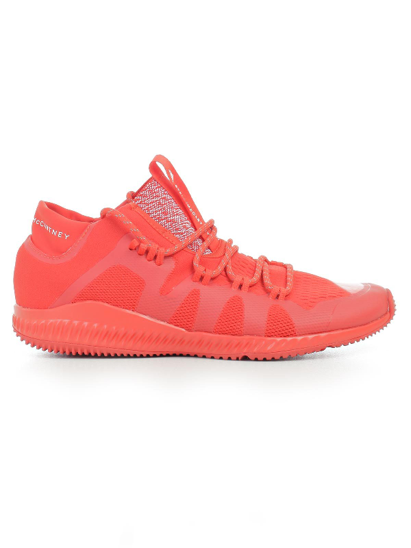 Adidas By Stella Mccartney Sneakers Crazy Train Buonce Mid In Red
