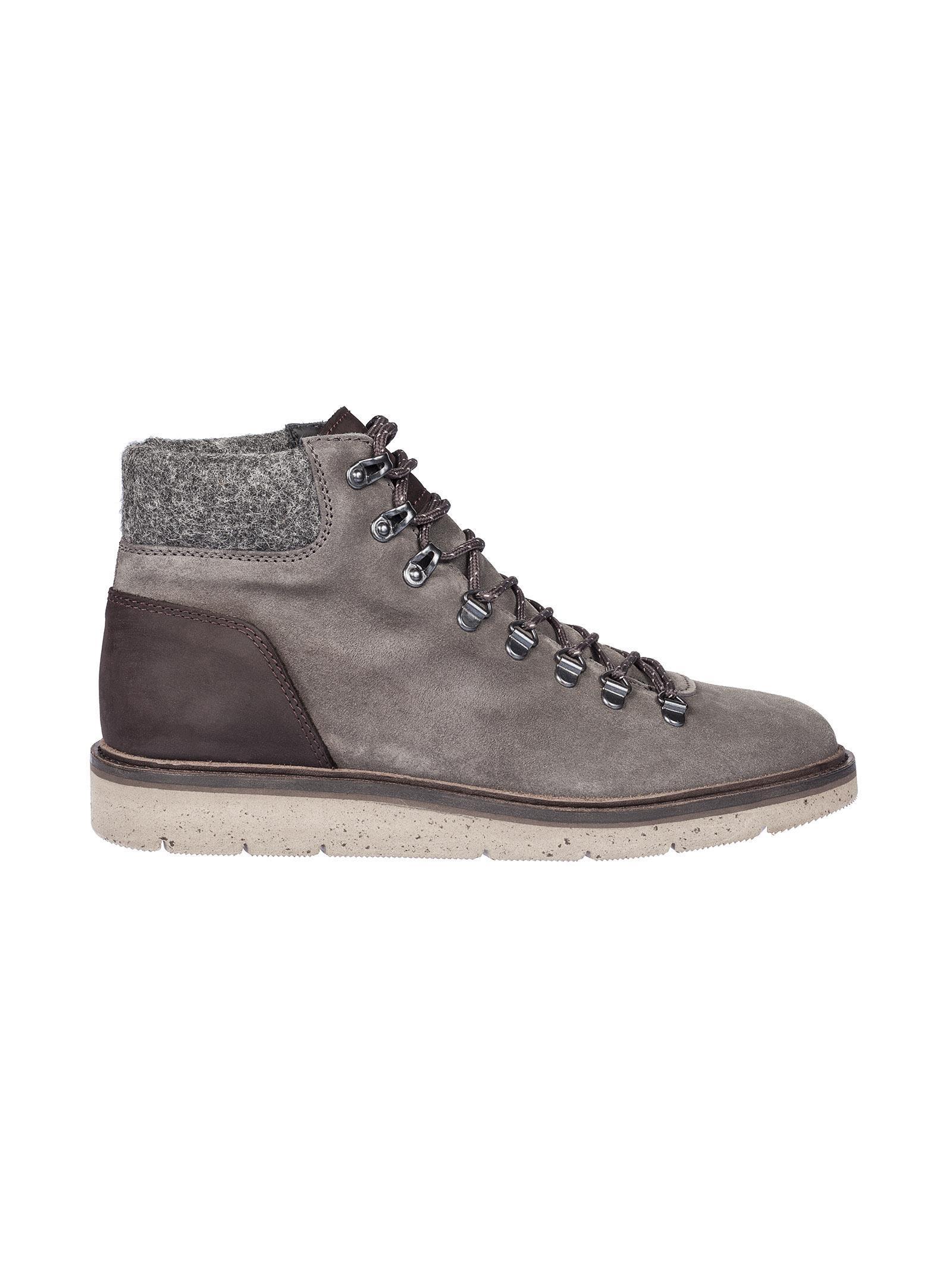Hogan H334 Hiking Boots In Brown   ModeSens