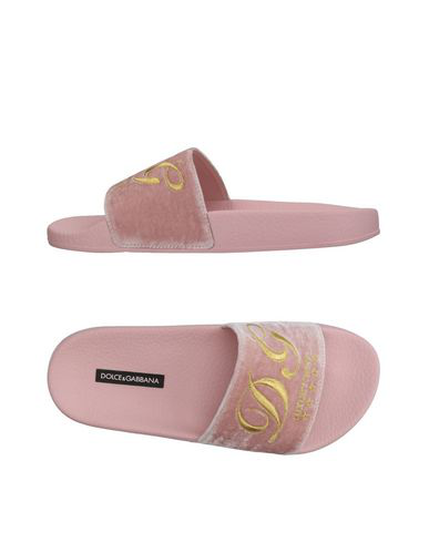 Dolce & Gabbana Slippers In Pink