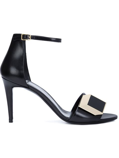 Pierre Hardy 'DÉ D'Or' Sandals In Black