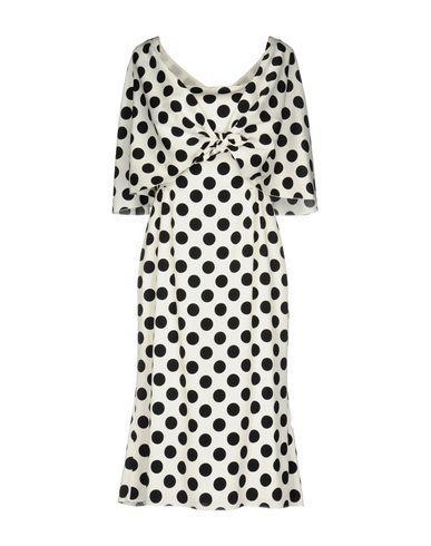 Dolce & Gabbana Knee-Length Dresses In Ivory