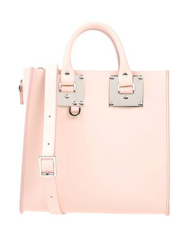 Sophie Hulme Handbag In Light Pink