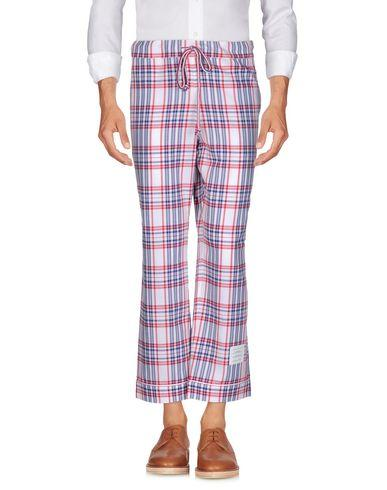Thom Browne Casual Pants In White