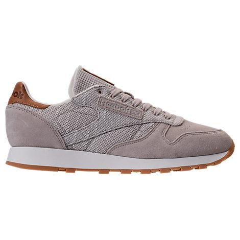 3b0fbfb9ef2 Reebok Men s Classic Leather Ebk Casual Sneakers From Finish Line In  Sandstone Chalk Gum