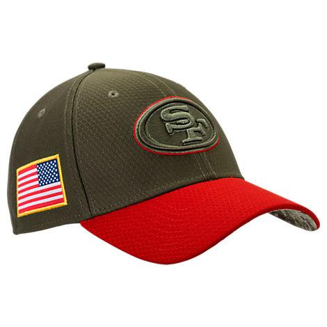 bc87b9555 New Era San Francisco 49Ers Nfl Salute To Service 39Thirty Fitted ...
