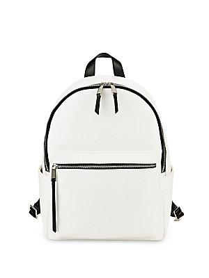 2642a1448d3 French Connection Perry Faux Leather Backpack In Opal   ModeSens