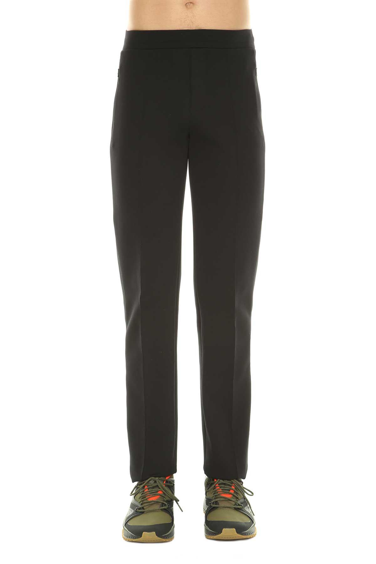 Moncler Classic Fit Track Pants In Nero