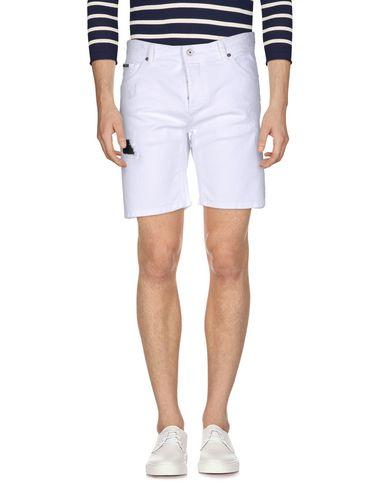 Just Cavalli Denim Shorts In White
