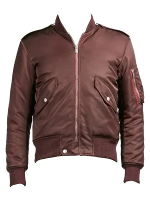 0ab851c1d5b Saint Laurent Classic Bomber Jacket In Pink | ModeSens
