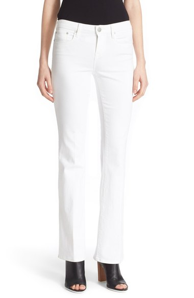 Vince Bootcut Jeans (optic White)