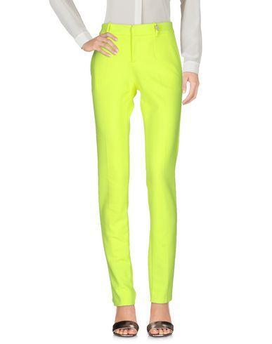Philipp Plein Casual Pants In Acid Green