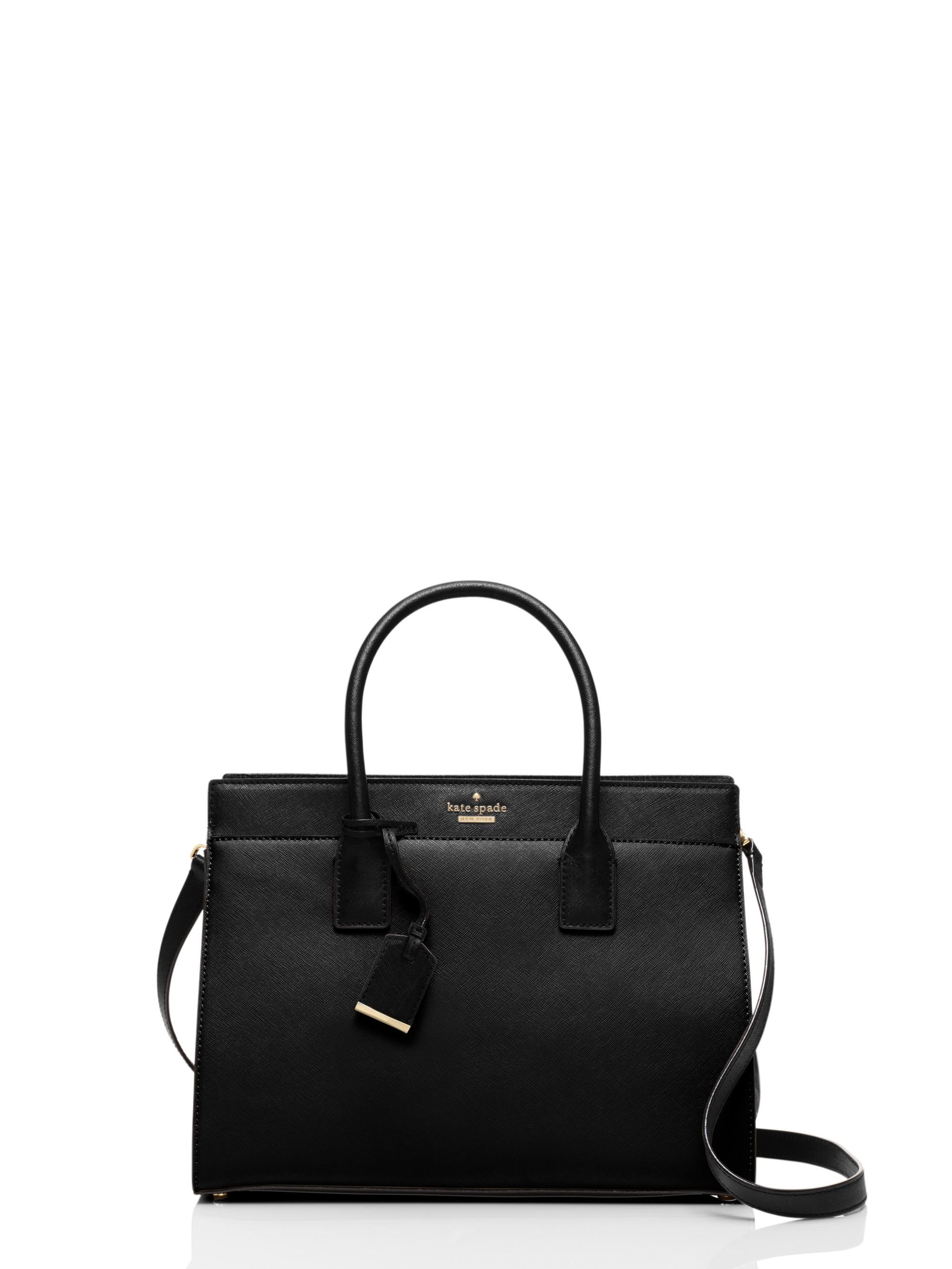 Kate Spade Cameron Street Candace Satchel In Black