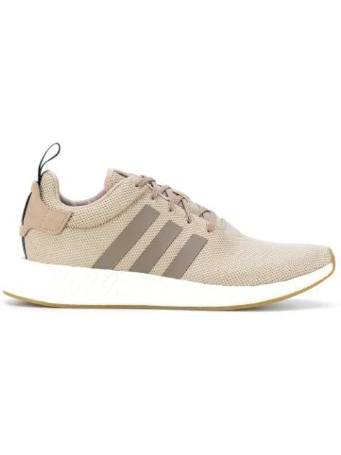 Adidas Originals Nmd R2 Sneakers In Beige By9916 - Beige In Neutrals