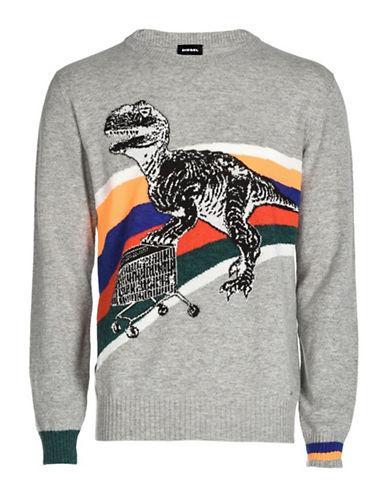 Diesel K-dino Sweater-grey