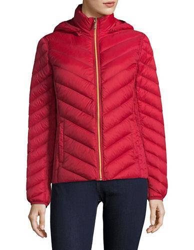 Michael Michael Kors Packable Down Jacket-red