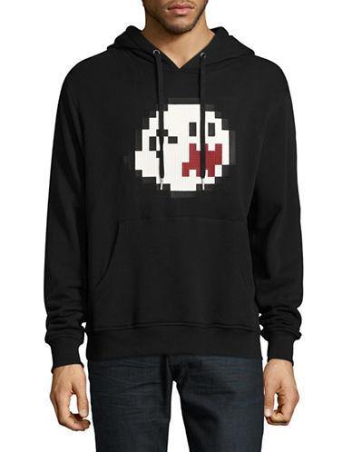 Mostly Heard Rarely Seen Haunting You Lego Cotton Hoodie-black