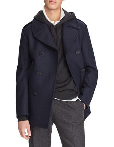 Polo Ralph Lauren Modern Wool-blend Peacoat-navy