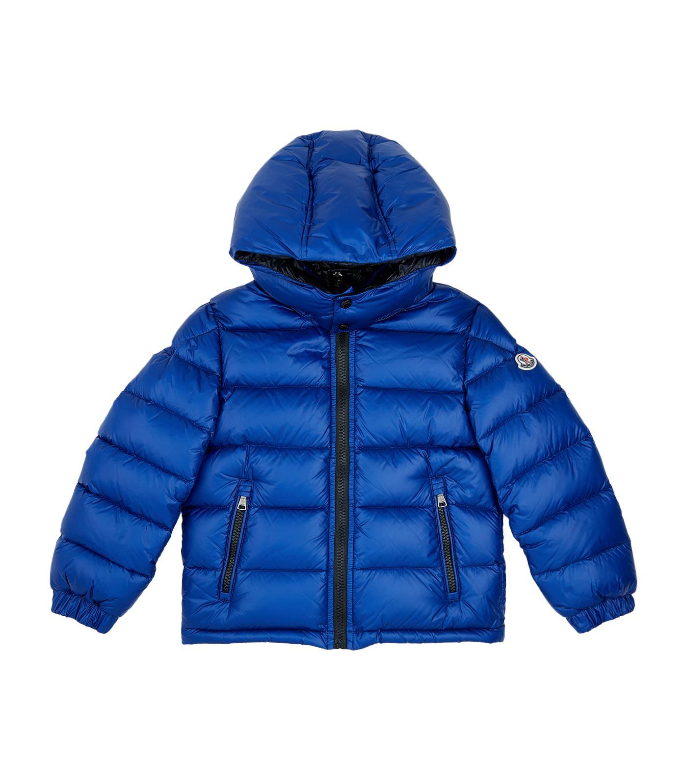 Moncler New Zin Padded Jacket In Blue