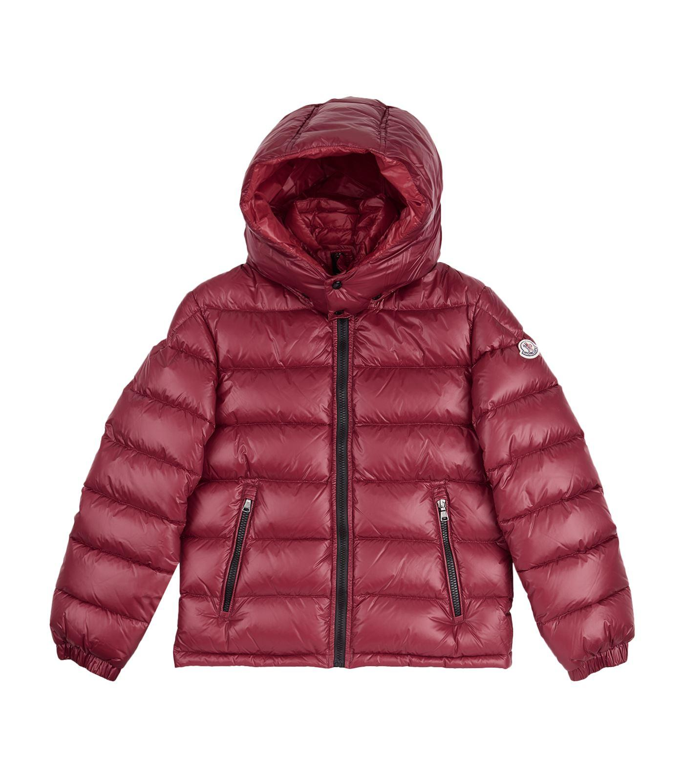 Moncler New Zin Down Coat (12 Years) In Red
