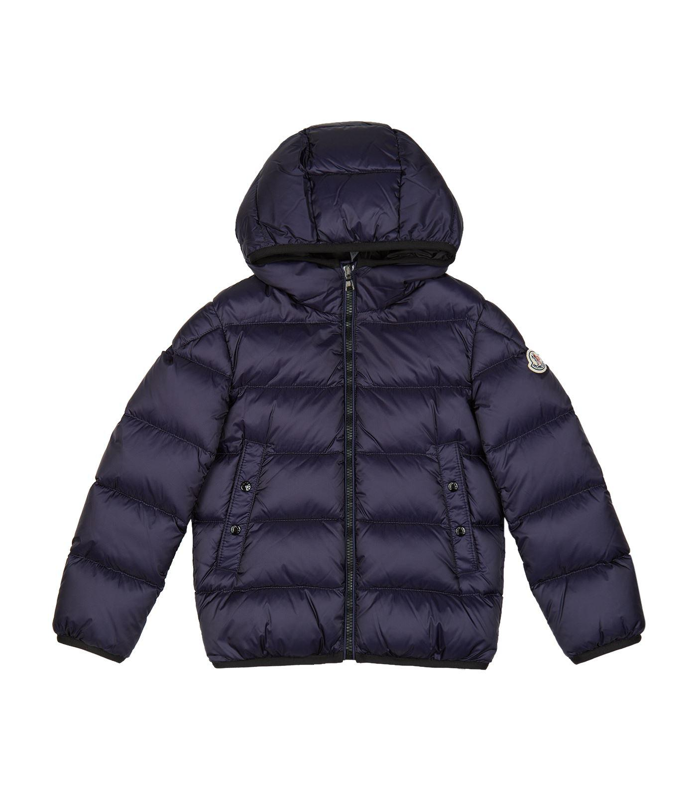 Moncler Serge Padded Jacket In Navy