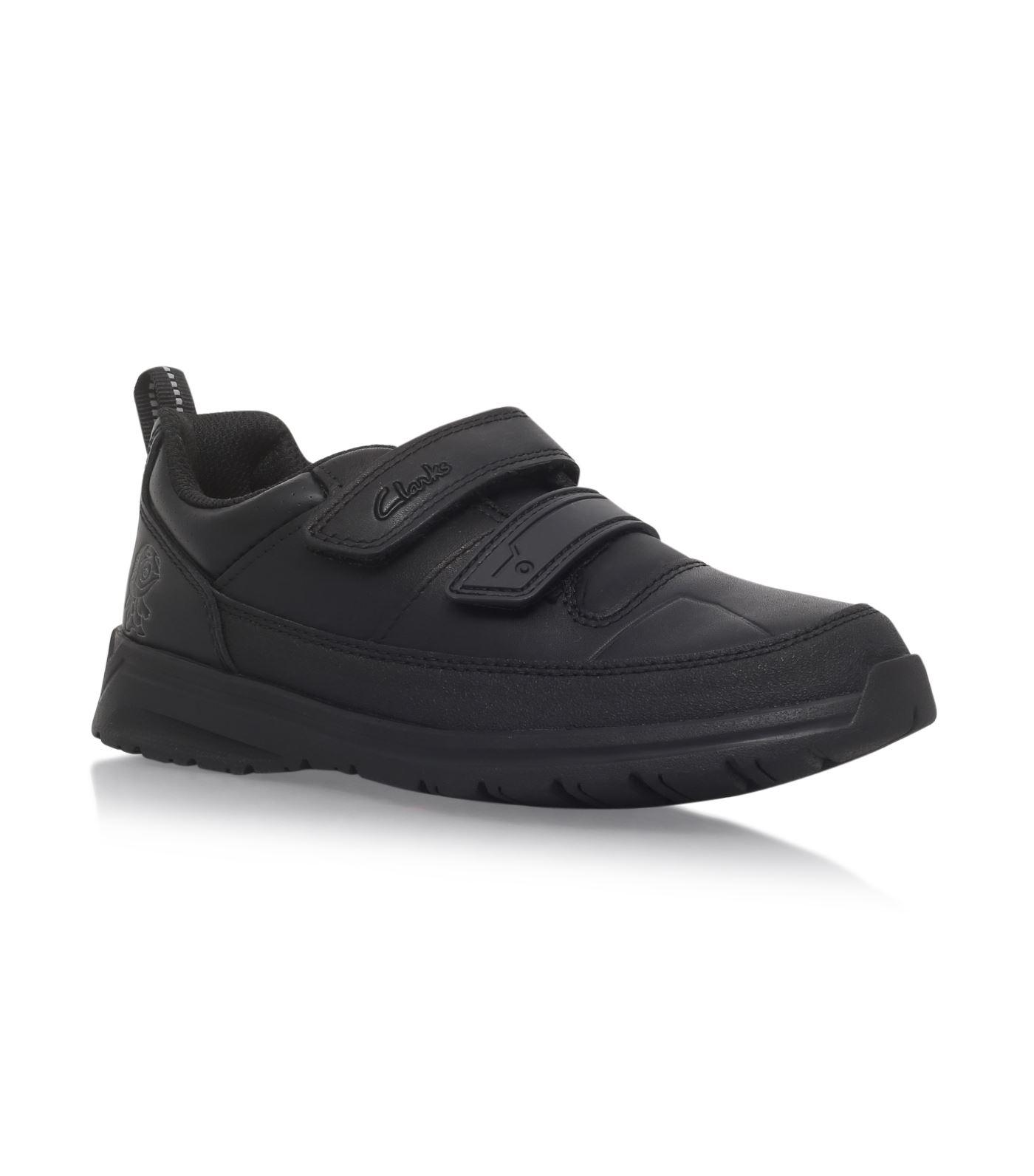 Clarks Reflect Ace Sneakers In Black