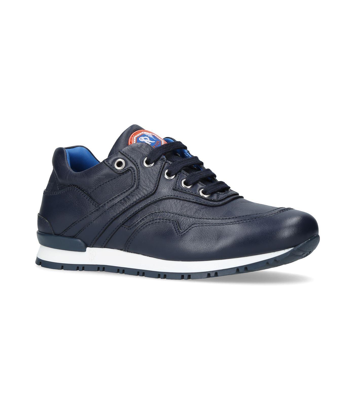 Stefano Ricci Bentley Low-top Sneakers In Navy