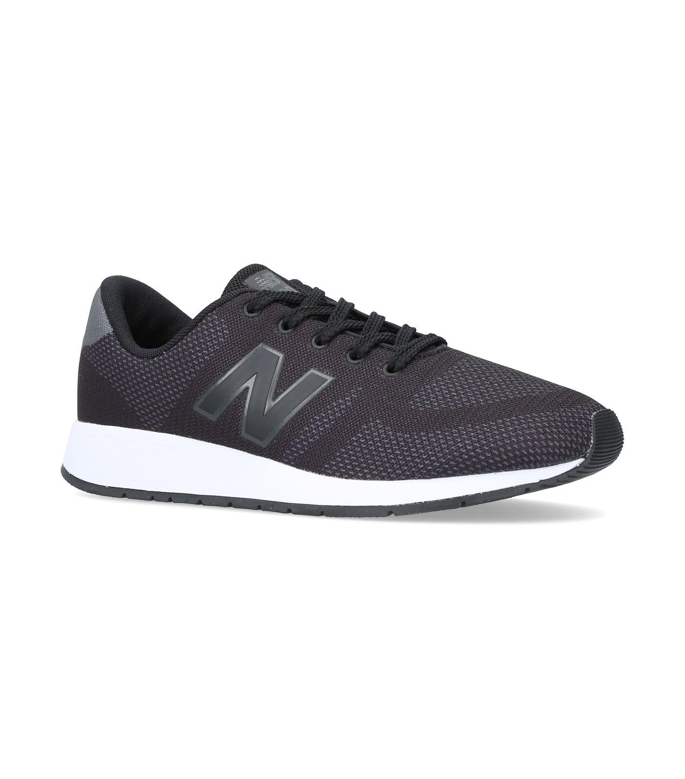 New Balance 420 Hybrid Lace Up Sneakers In Black