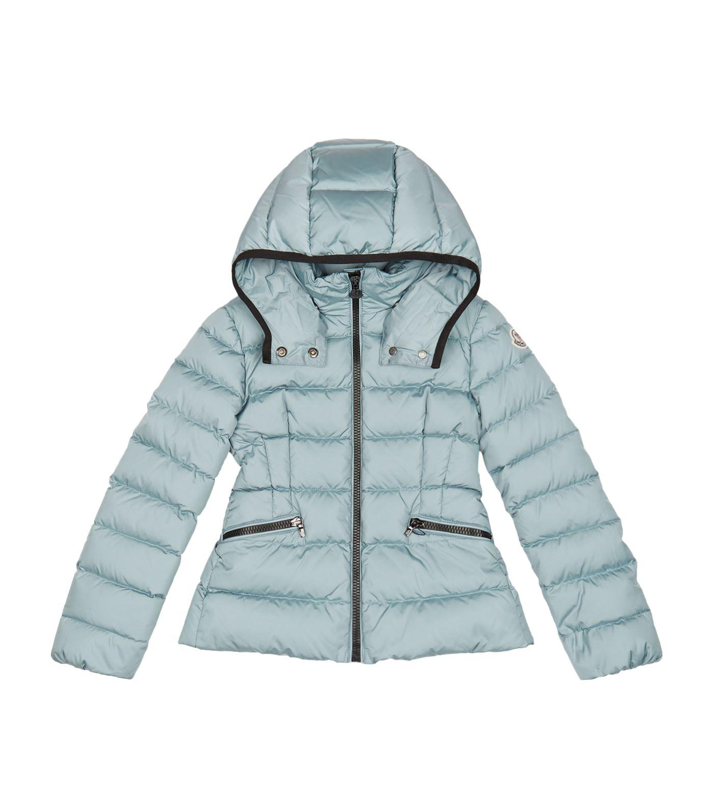 Moncler Saby Hooded Jacket In Blue