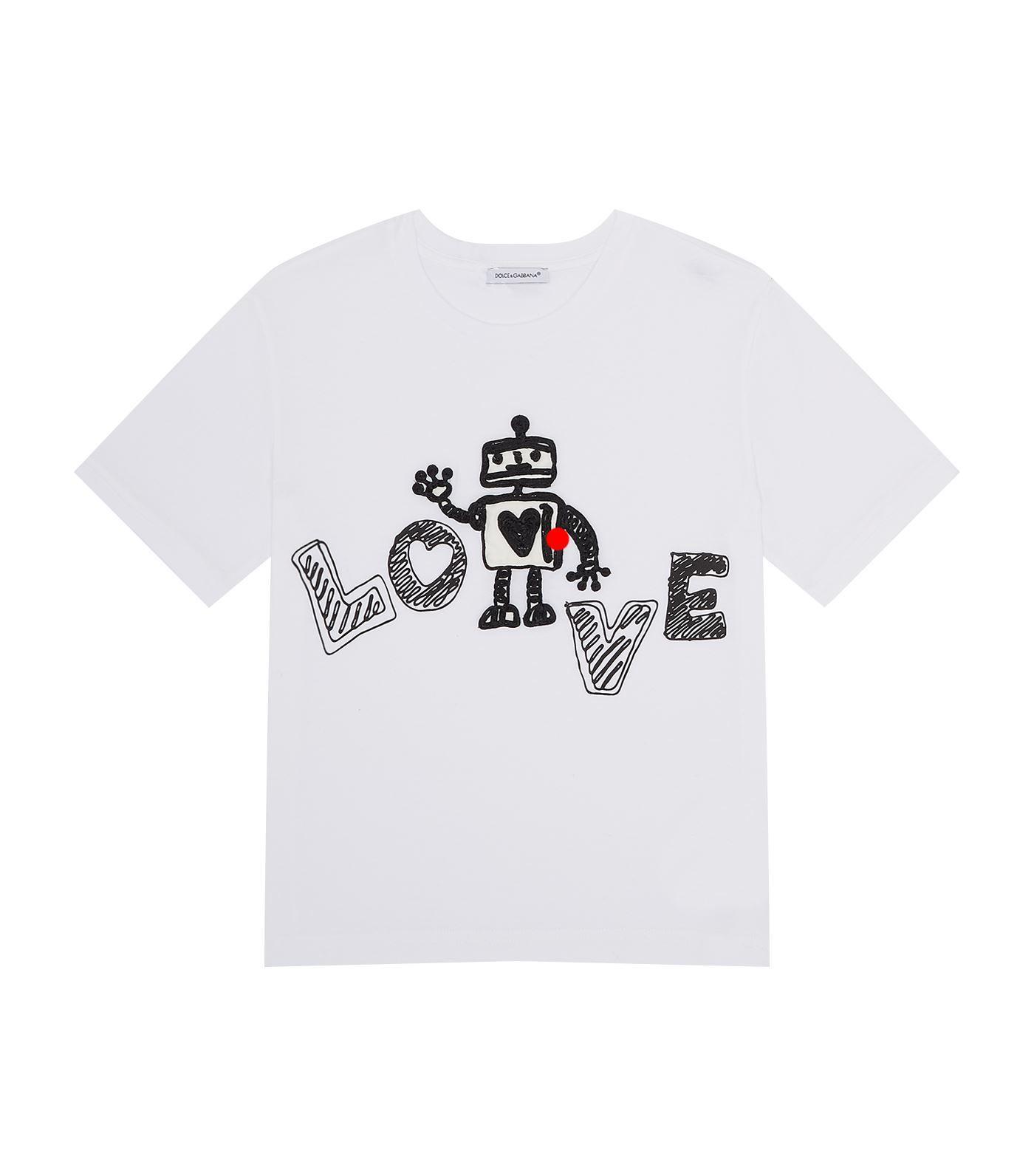 Dolce & Gabbana Robot T-shirt In Multi