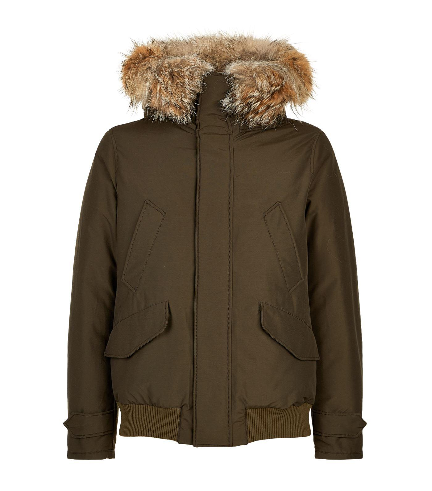 Woolrich Polar Jacket In Grey