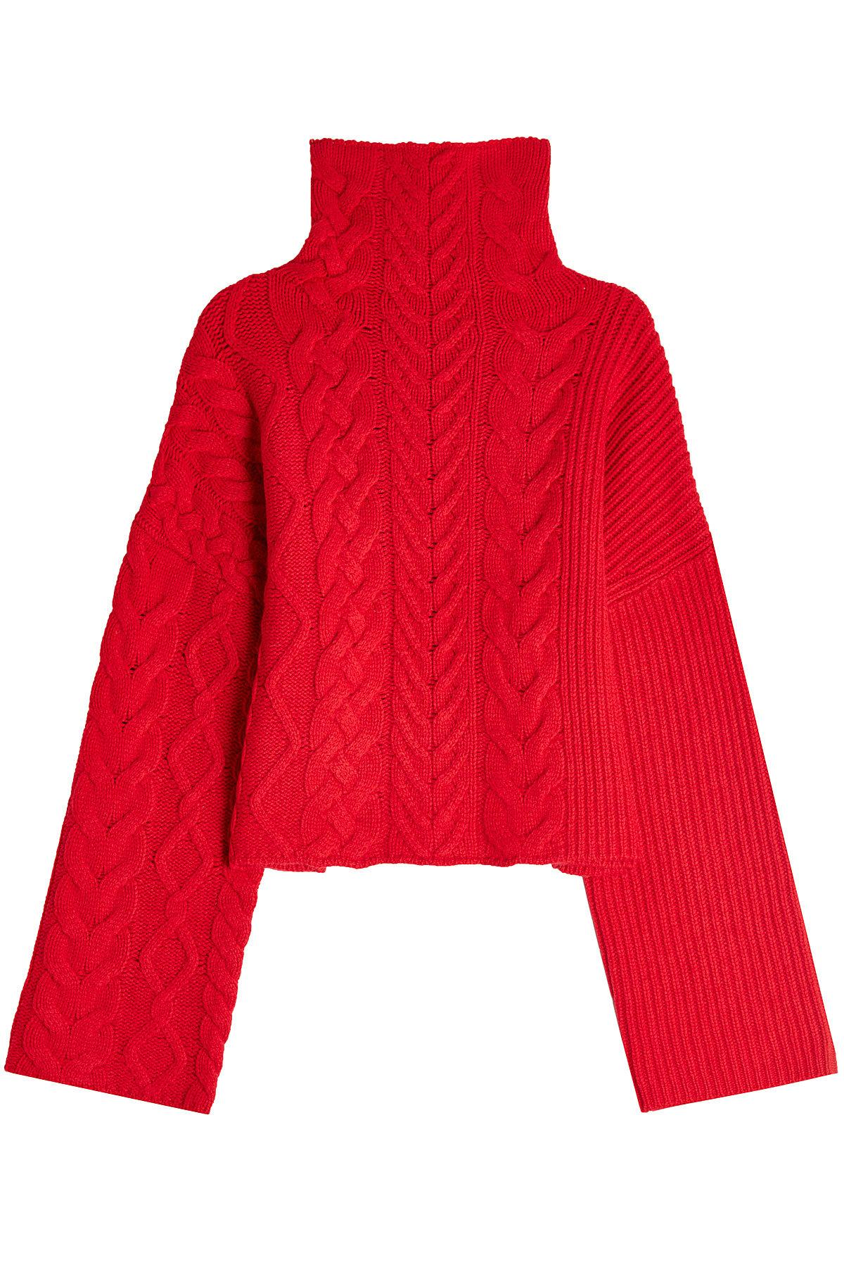 Zadig & Voltaire Wool Turtleneck Pullover In Red