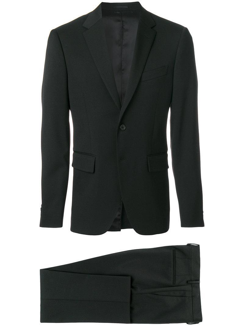 Versace Executive Fit Suit - Black