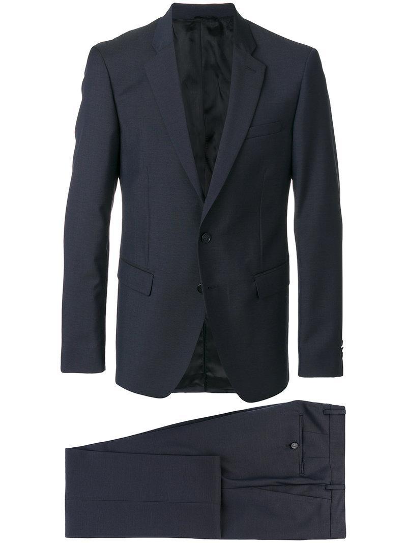 Versace Slim-fit Suit - Blue